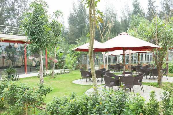 Hình ảnh hoạt động của cafe - khách sạn Biển Xanh