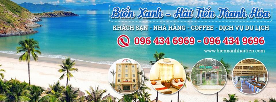 Khách sạn tại Biển Hải Tiến, Hệ thống Khách sạn, nhà hàng,coffe Biển Xanh